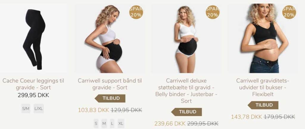 graviditetsbukser